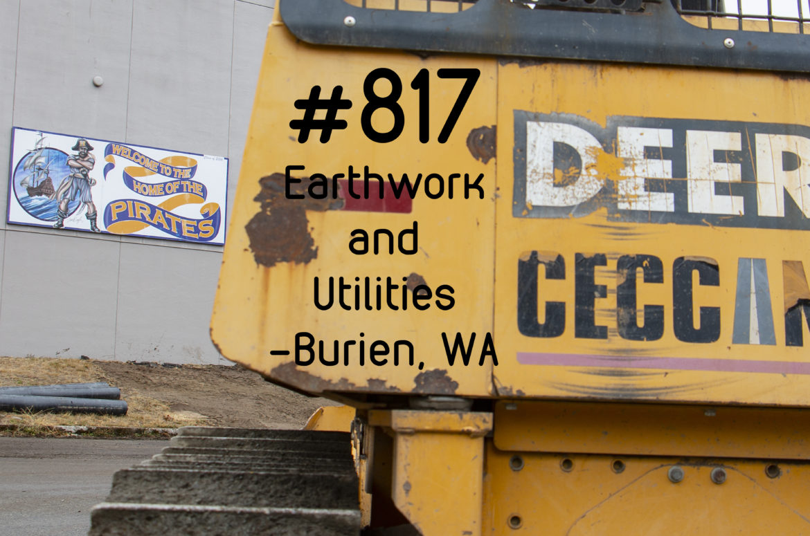#817- Highline High School Earthwork and Utilities